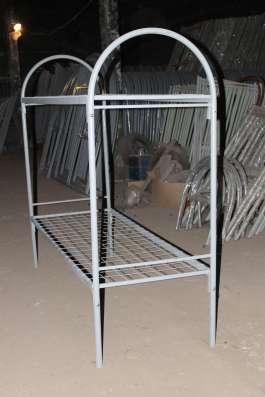 Кровать односпальная для рабочих и общежитий