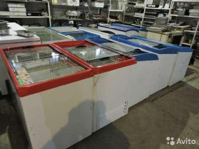 торговое оборудование Большая акция на морозиль