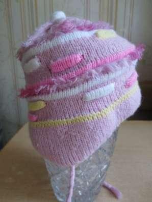 Вязанные шапки для девочки в Челябинске Фото 2