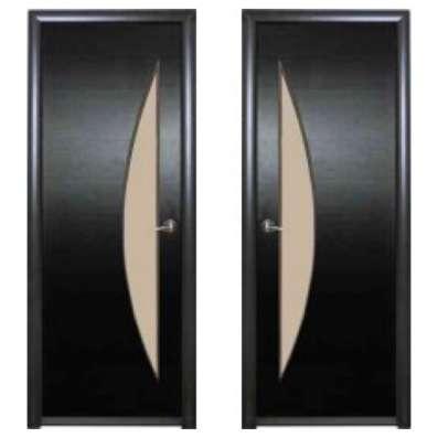 Двери межкомнатные парус венге