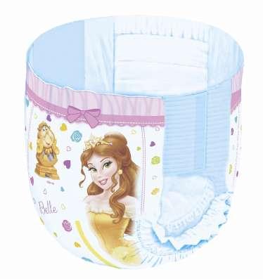 Подгузники-трусики для девочек Disney box 4 9-14 кг 104 шт х в Москве Фото 1