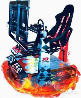 бизнес 6D автосимулятор