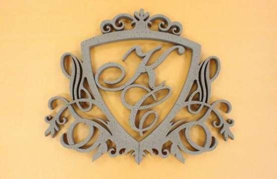 Объемные буквы и декор из пенопласта