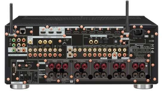 Ресивер Pioneer SC-LX89 -Новинка - рст