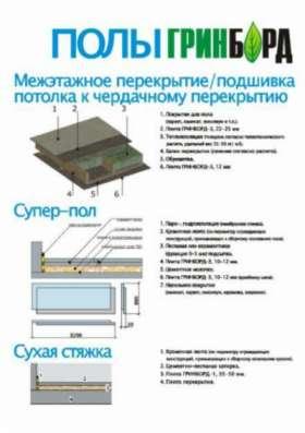 Грин Борд (Green Board®) Фибролит в Екатеринбурге Фото 1