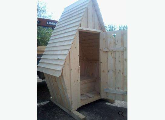 туалет деревянный в Кемерове Фото 2
