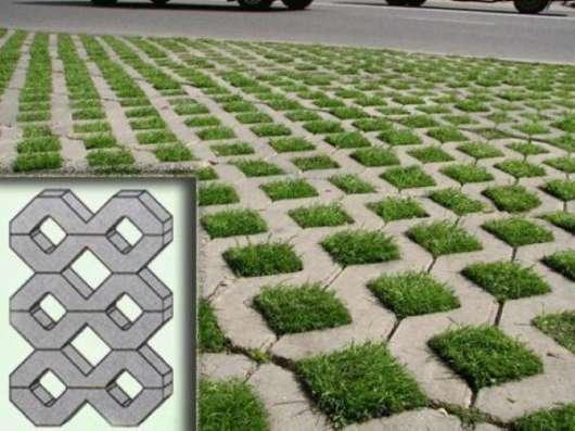 Газонная решетка тротуарная плитка Барыбино Домодедово