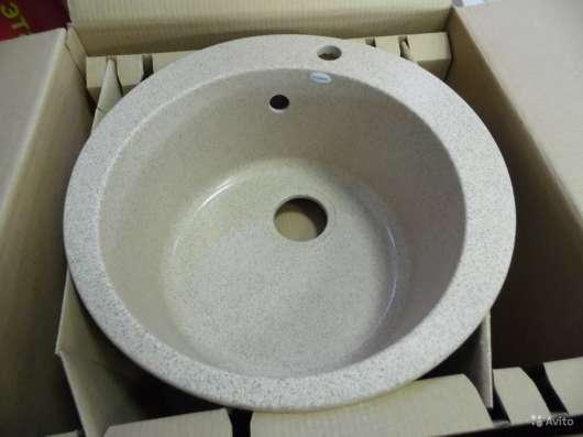 Продажа кухонных моек из искусственного камня U-405