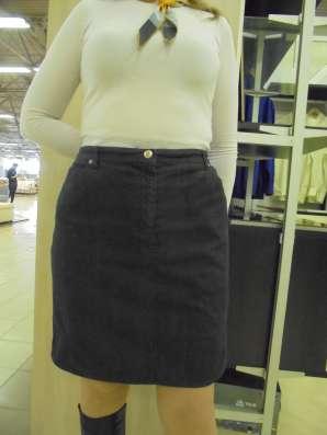 Юбка джинсовая серая, р.50-52