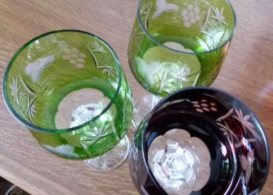 Три бокала.Хрусталь Фужеры.21 см Rоеmer.Вино в г. Франкфурт-на-Майне Фото 3