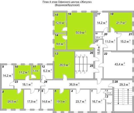 Офисное помещение, 18.1 м²