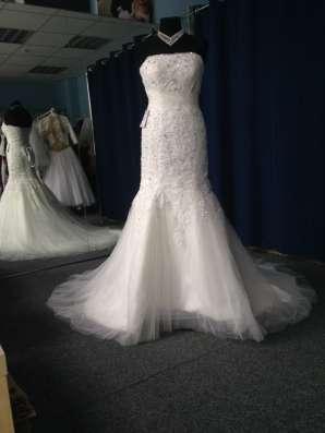 Свадебное платье-русалка (рыбка, годэ) в Москве Фото 2