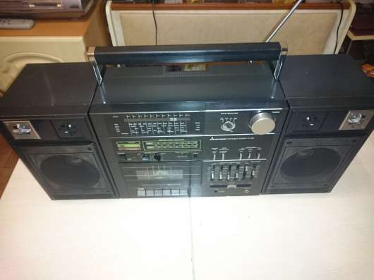 Mitsubishi Portable Compo TX -86 магнитола винтаж