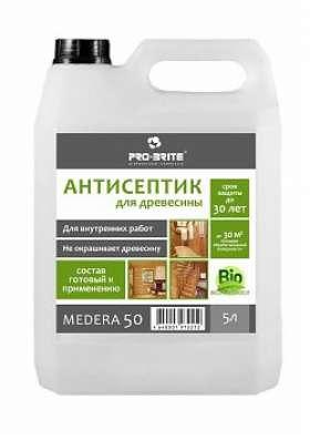 Антисептик-грунтовка для древесины Medera 50