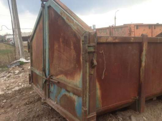 Контейнер мусорный под мультилифт 16 м3 в Москве Фото 1