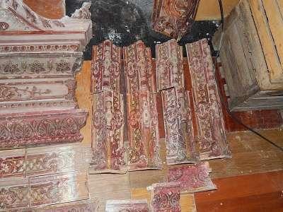 Изразцы камина 19 века завод Б.Я.Лисовского в Ставрополе Фото 1