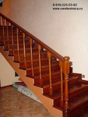 Красивые лестницы для дома, коттеджа Новая Лестница в Орехово-Зуево Фото 3