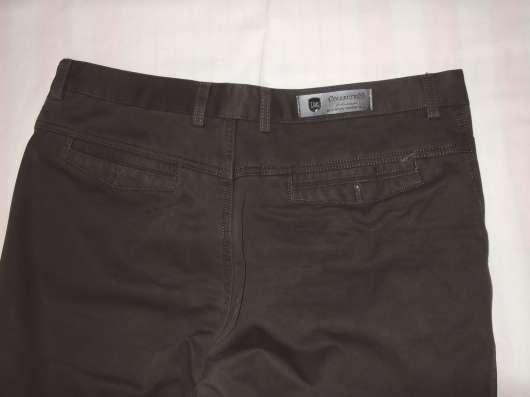 Продам джинсы утепленные коричневые р-р 52, новые в Новосибирске Фото 3