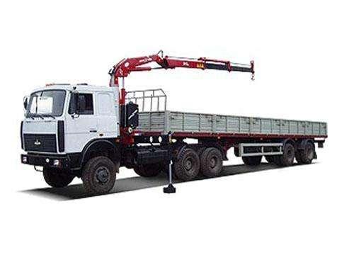 Аренда манипулятора 7 тонн кран - 20 тонн борт в Самаре