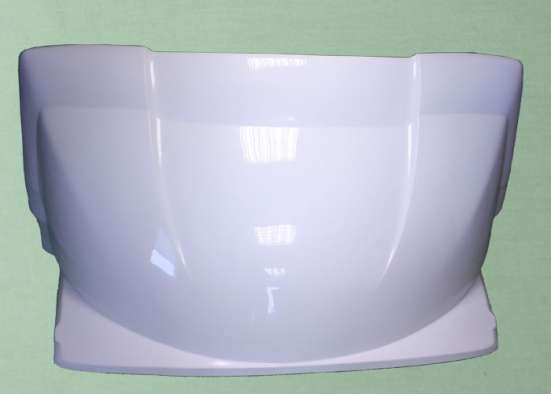 Спойлер на крышу Г-3302 фургон (с ушами) 2,2м *цв. белый*