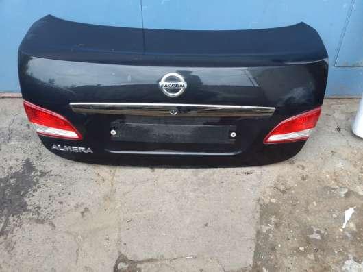 Крышка багажника в сборе Nissan Almera G15