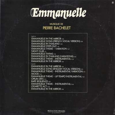 Pierre Bachelet - Emmanuelle