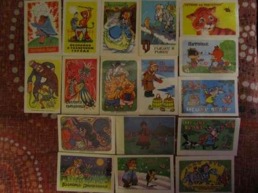Календарики 70-х -80-х годов, мультфильмы
