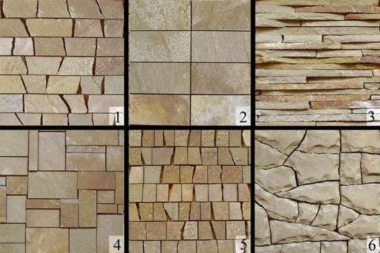 Каменная плитка из натурального камня для помещений
