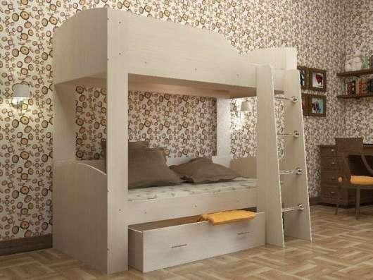 Детские двухярусные кроватки