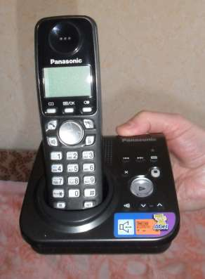 Продаю цифровой радиотелефон с автоответчиком PANASONIC