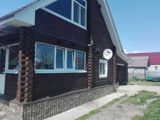 Дом двух этажный деревянный в Ульяновске Фото 1