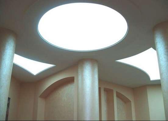 Светопропускные натяжные потолки TRANSLUCENT