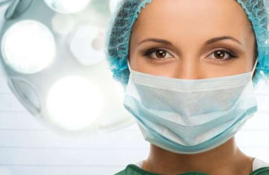 Медицинская 3-х слойная маска