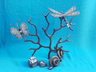 Кованые бабочки,птички,стрекозы,улитки в г. Белореченск Фото 1