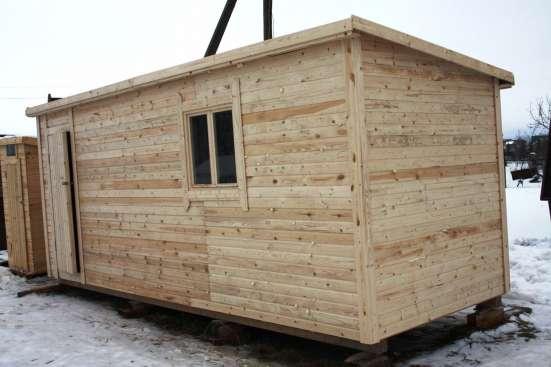 Бытовка для строителей 6-метровая