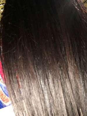 55см, волосы родные(срез)