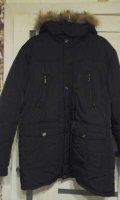 Продам мужскую куртку на подстежке и пуховик. Размер 60-64
