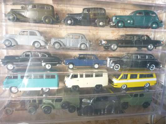 Коллекция машинок