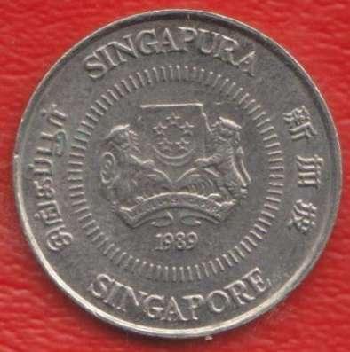 Сингапур 10 цент 1989 г. в Орле Фото 1
