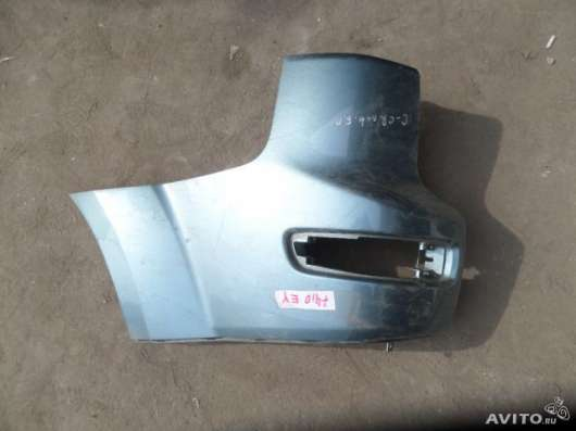 Клык заднего бампера Citroen C Croser