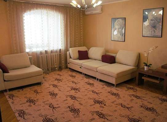 Сдаю 3 к. кв. ул. Юфимцева7/9кирп. 105м. ремонт, вся мебель