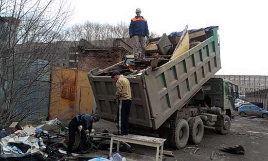 Вывоз строительного, бытового мусора
