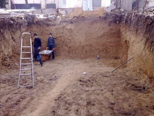Земельные работы; Ручная копка и т. д