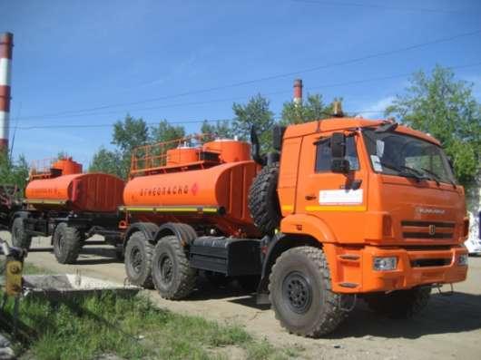 Автотопливозаправщик КАМАЗ 43118 Евро-4