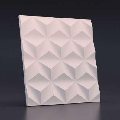 Объемные 3D панели для стен