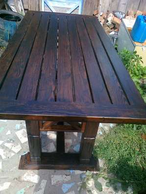 Мебель из дерева, для дачи