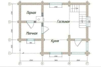 Гостевой дом 6х8