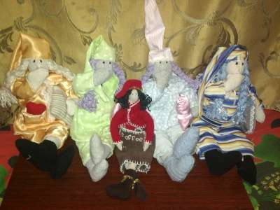 Куклы тильды - ручная работа в Челябинске Фото 1