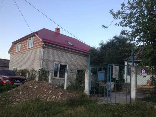 Новый капитальный дом под отделку с мансардной крышей в Краснодаре Фото 2