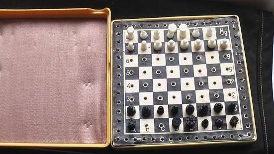Шахматы дорожные карманные. СССР в Саратове Фото 3